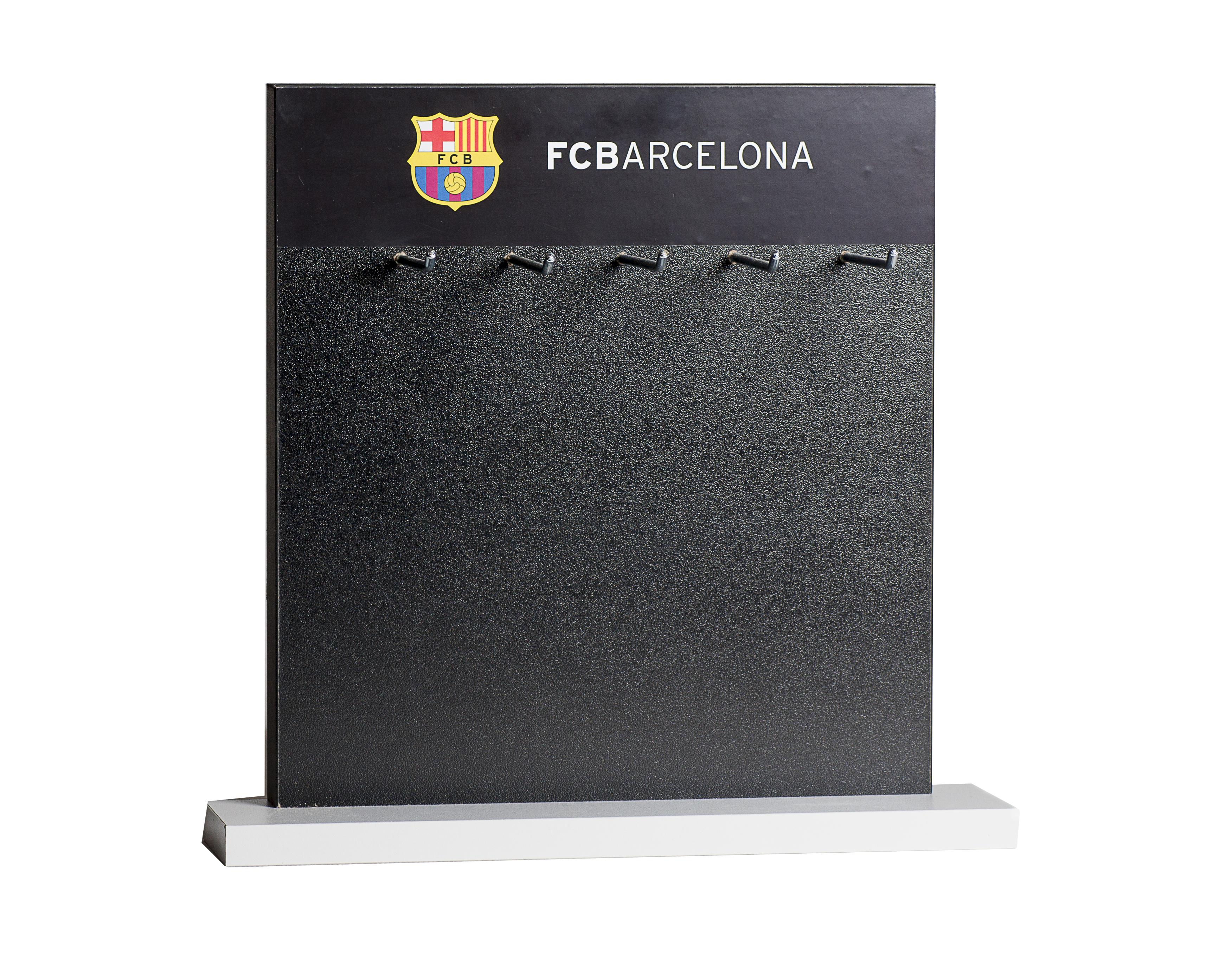 Expositor para llaveros FC.Barcelona